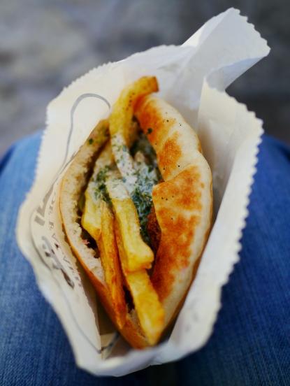 My first falafel