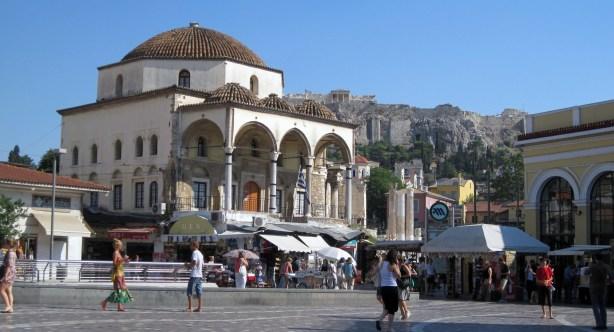Exploring Monastiraki Square