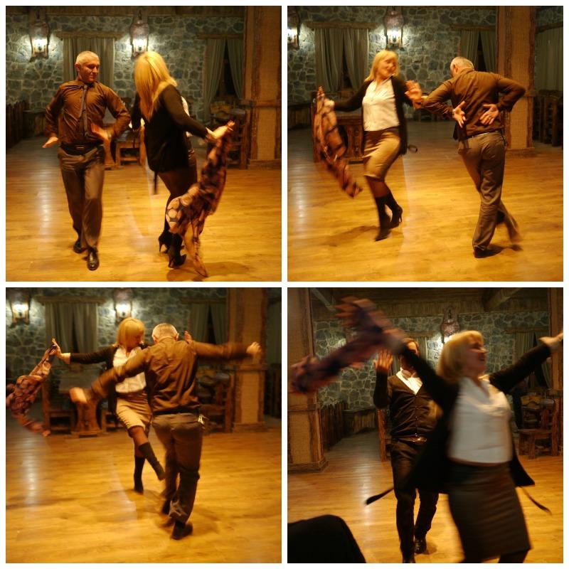 Dancing in Borjomi