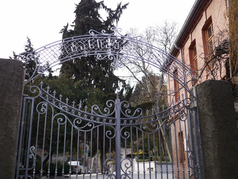 Entrance to a park