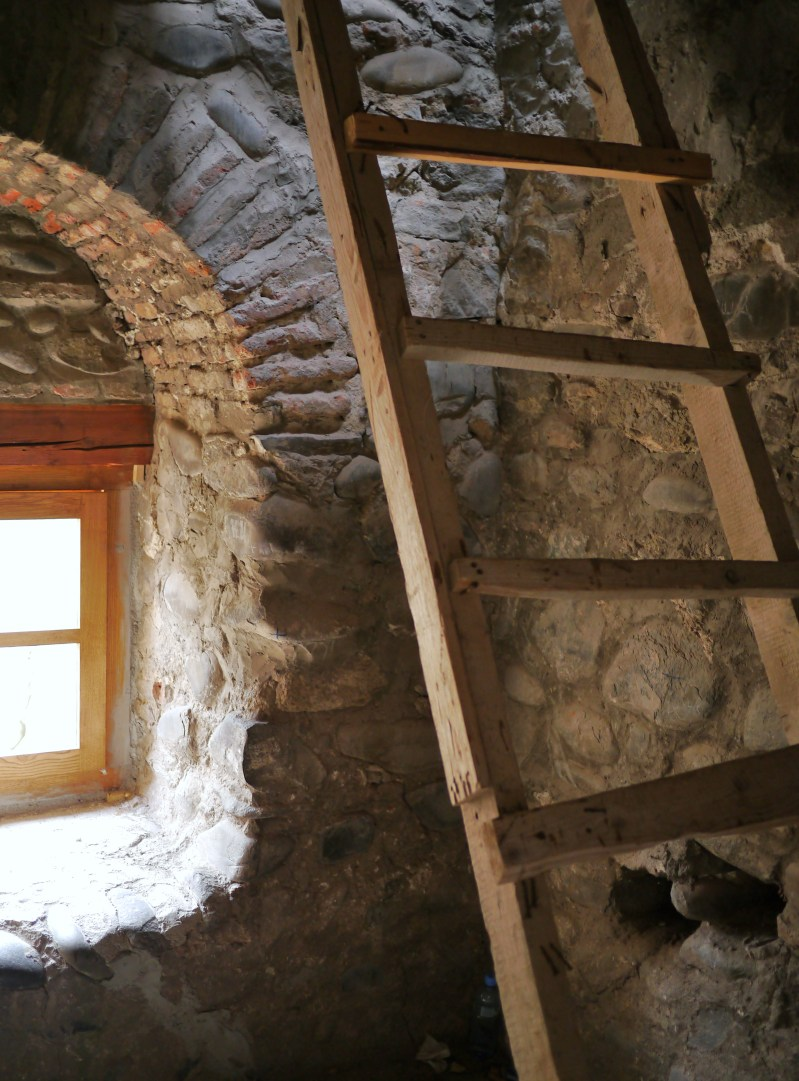 Inside a Tower in Tbilisi