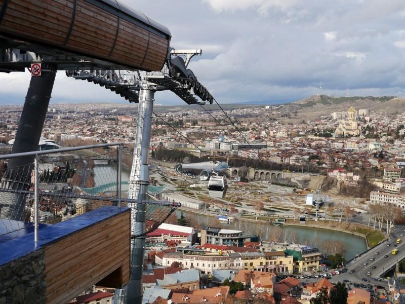 Funicular in Tbilisi