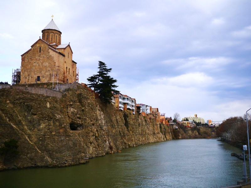 Kura River, Tbilisi