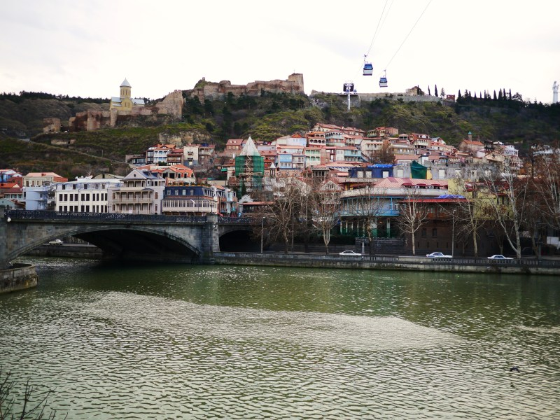 View of Old Tbilisi
