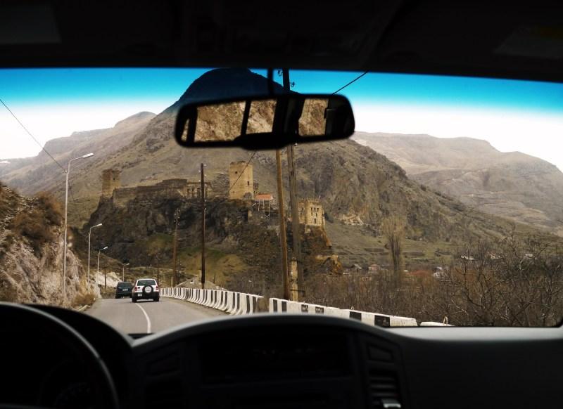 Driving through Georgia