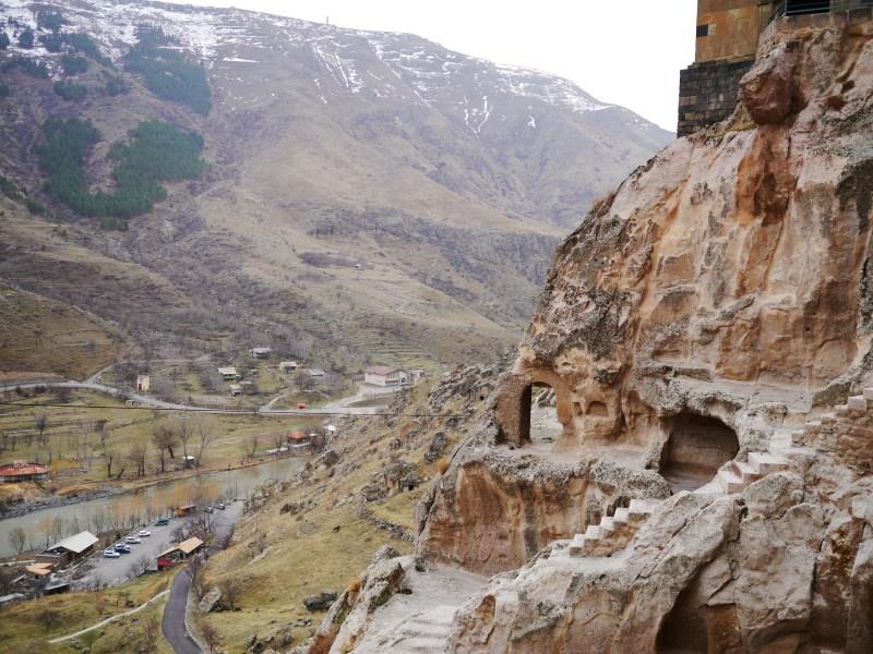 View from Vardzia