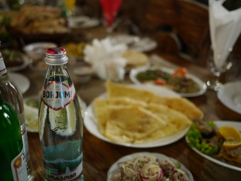 Borjomi, the beloved sparkling mineral water
