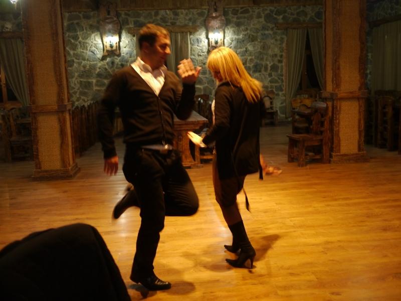 Supra dancing