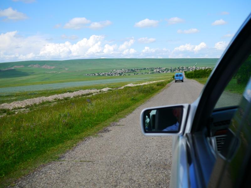 Driving through Kakheti