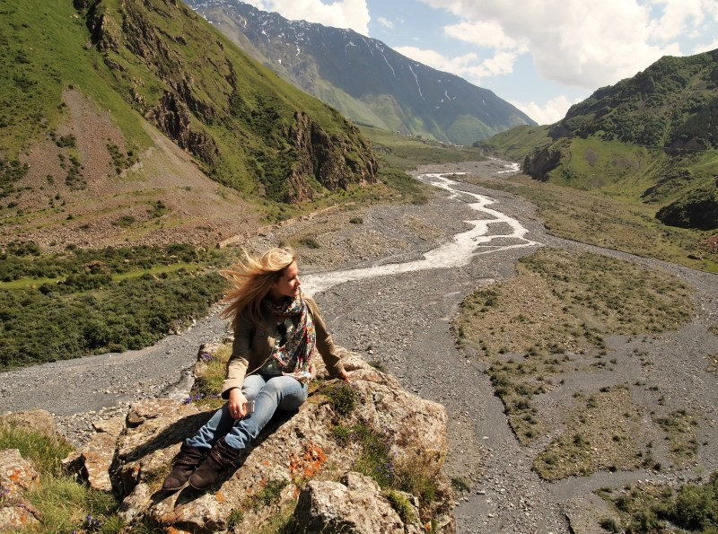 Hidden spots of Kazbegi