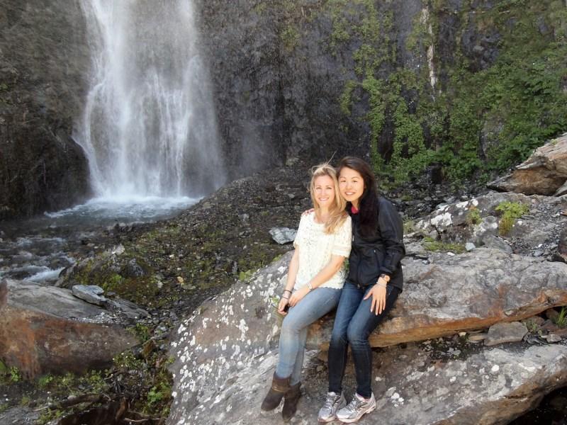 American girls in Kazbegi