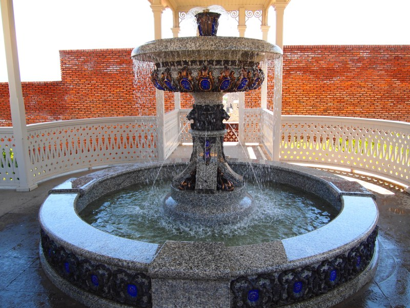 Fountain in Rabati Castle