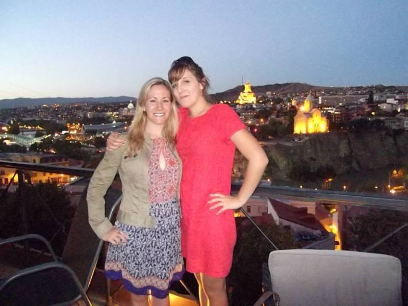 lucile, me, and tbilisi