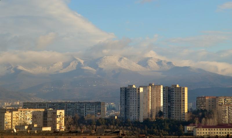 Temqa view of mountains