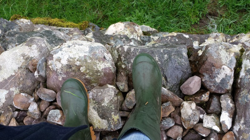 Wellies in Ireland