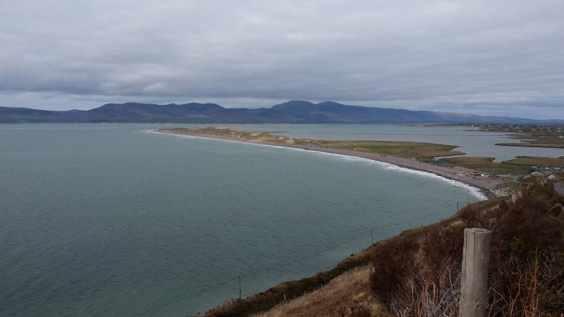 Rossbeigh from the mountainside